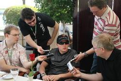McLaren media breakfast at the Ritz Hotel: Kimi Raikkonen