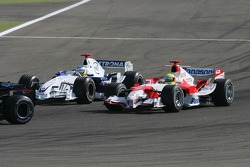 Nick Heidfeld and Ralf Schumacher
