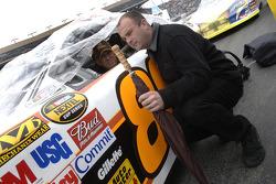 Dale Jarrett and Slugger Labbe