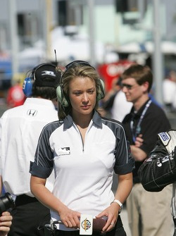 ABC and ESPN pit reporter Jamie Little