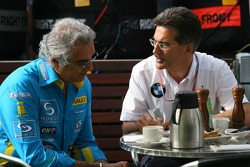 Flavio Briatore and Dr Mario Theissen