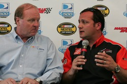 Crew chiefs' press conference: Larry McReynolds and Greg Zipadelli