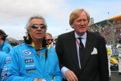 Flavio Briatore and Ron Walker