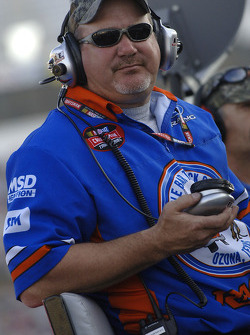 Rick Crawford's crew chief Kevin 'Cowboy' Starland