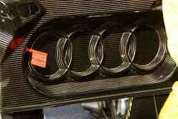 Inside of door of Audi car
