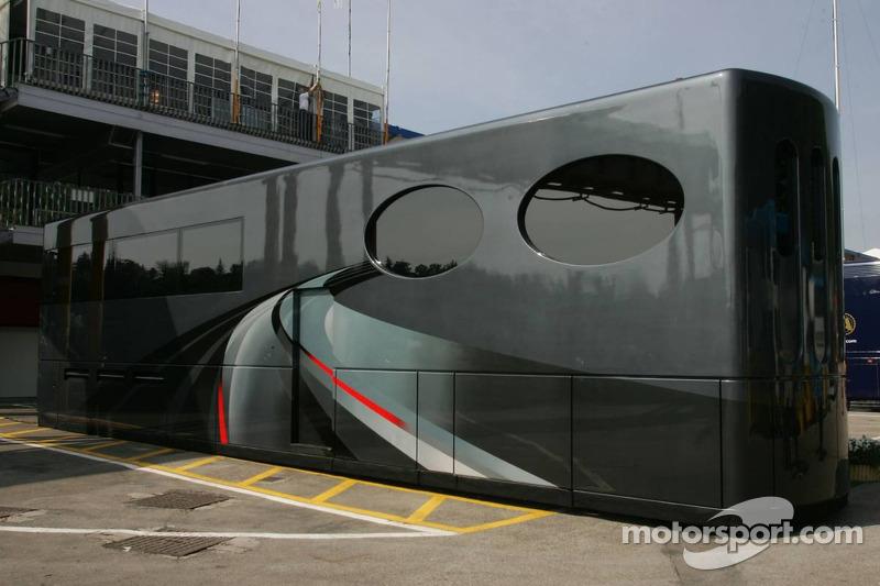 Motorhome of Bernie Ecclestone