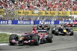 Vitantonio Liuzzi, Christian Klien and Scott Speed