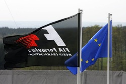 Flags at Nürburgring