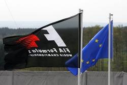 Flags at Nürburgring