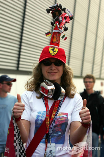 Fans at Nürburgring