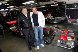 Lucas Podolski and Norbert Haug