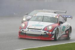#1 Larbre Competition Porsche 997 GT3 Cup: Raymond Narac, Roland Berville