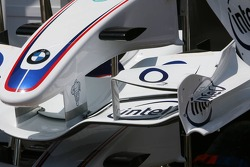 BMW- Sauber bodywork in the pitlane