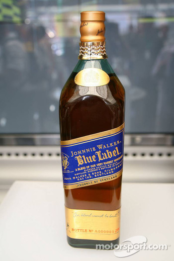 Johnnie Walker Celebrates 40 years of progress with Mclaren, with special Magnum of Johnnie Walker Blue Label