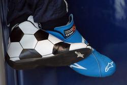 Vitantonio Liuzzi's shoes