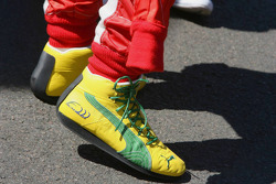 Felipe Massa's shoes
