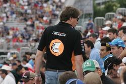 A Christijan Albers fan in the crowd