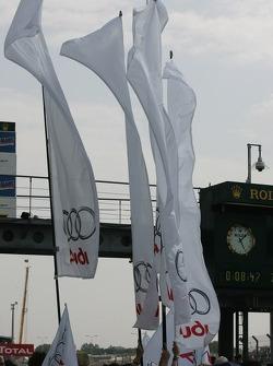 Audi flags