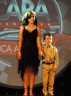 Marissa and Lucca Andretti