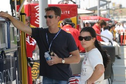 Danica Patrick with husband Paul Hospenthal