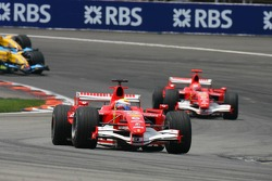 Felipe Massa leads the field