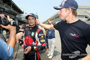 Vitantonio Liuzzi and Scott Speed
