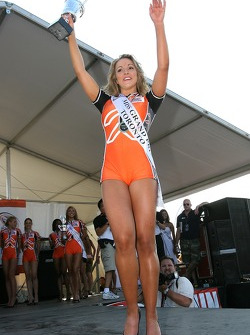 Miss GP winner Natalie Waples