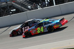 Ryan Newman and Jeff Gordon