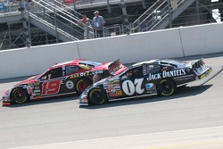 Jeremy Mayfield and Clint Bowyer