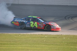 Burn out for Jeff Gordon