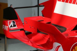 New small winglets with adjustable wings on the Ferrari F2006
