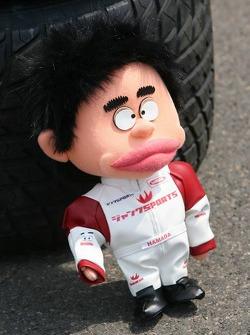 Super Aguri F1 team mascot