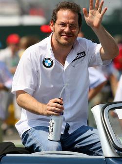 Drivers parade: Jacques Villeneuve