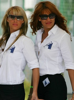 Hot security girls