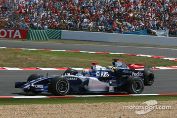 Mark Webber and Pedro de la Rosa