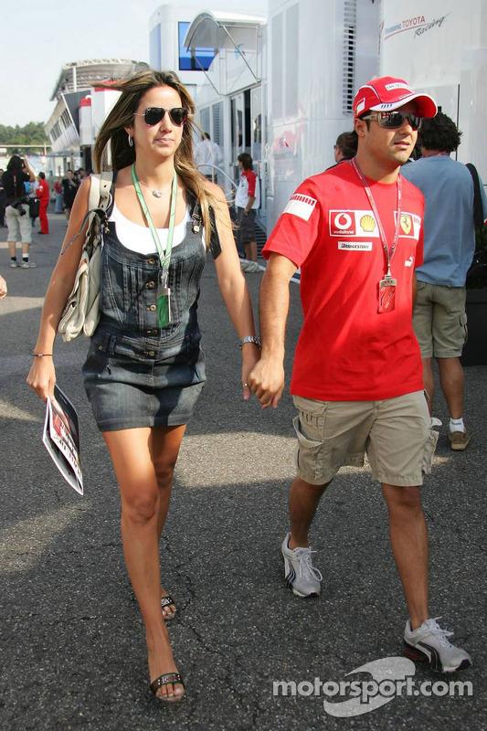 Rafaela Bassi und Felipe Massa