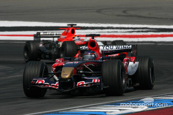 Scott Speed and Christijan Albers