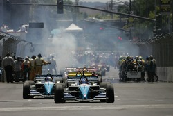 Paul Tracy leaves the grid