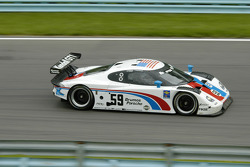 #59 Brumos Racing Porsche Fabcar: Hurley Haywood, JC France, Ted Christopher
