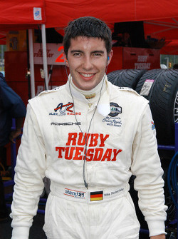 Mike Rockenfeller was happy after his stint