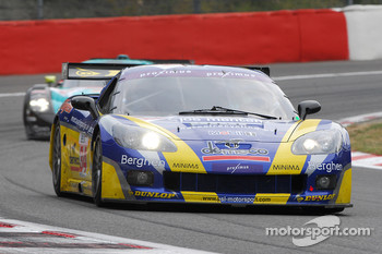 #34 PSI Experience Corvette C6R: Jos Menten, Jean-Philippe Belloc, Patrick Bornhauser, Fred Bouvy