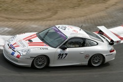 #117 Jean-Charles Levy Porsche 996 GT3 Cup: Philippe Levy, Jean-Charles Levy, Michel Mitieus, Gérard Tremblay