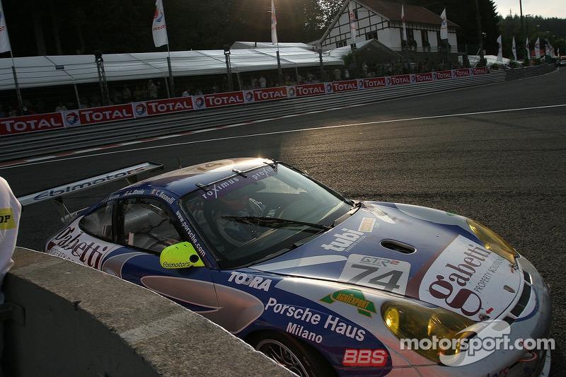#74 Ebimotors Porsche 996 GT3 RSR: Luigi Moccia, Emanuele Busnelli, Johnny Mowlem