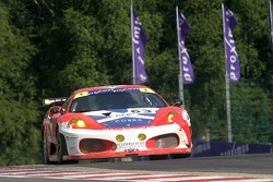 #63 Scuderia Ecosse Ferrari 430 GT2 LM: Chris Niarchos, Tim Mullen, Allan Simonsen