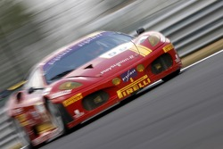 #59 AF Corse Ferrari 430 GT2 LM: Mika Salo, Rui Aguas, Timo Scheider