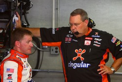 Jeff Burton and crew chief Scott Miller