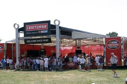 Craftsman Tools display area
