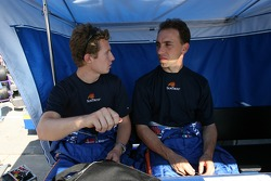 Ryan Briscoe and Max Angelelli