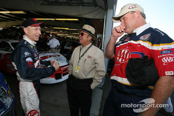 Mark Martin, Jack Roush and Pat Tryson