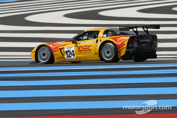 #124 Riverside Corvette Z06 GT3: Benjamin Dessange, Christian Demigneux, Christopher Campbell